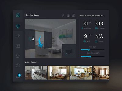 A concept screen that we designed and prototyped for project JARVIS during BOLT - Housing.com's first in-house designathon.  JARVIS, is a unified home-automation platform that connects with your ho...