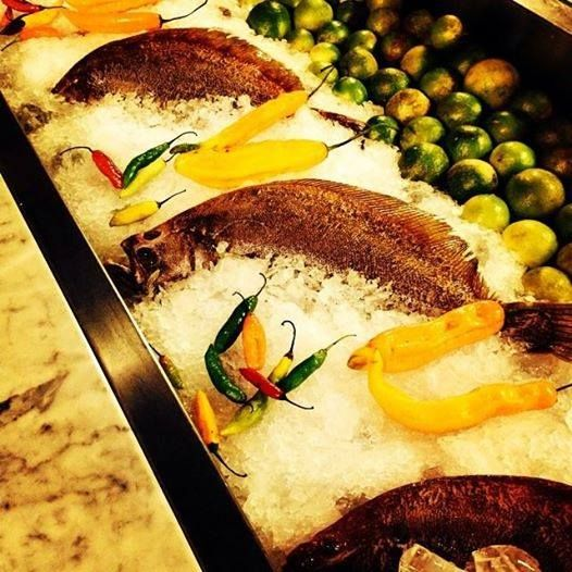 Pescado, ají y limón. Símbolos de nuestra cocina.  https://www.facebook.com/Olayarestaurant  #olayarestaurant #fish #lemon #inkafood #flavours #ceviche #restaurant #kitchen #peruvianfood #peruviancuisine #buenosaires