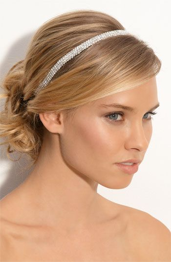 Tasha 'Solid Rows of Crystal' Headband available at #Nordstrom