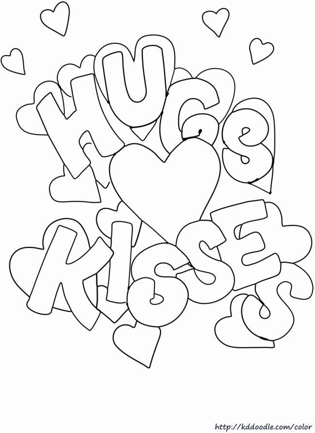 Valentine Day Coloring Picture Luxury Free Printable Valentine S Day In 2020 Printable Valentines Coloring Pages Valentine Coloring Pages Valentines Day Coloring Page
