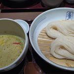 銀座 佐藤養助 - 比内地鶏使用 タイ風グリーンカレーつけ麺
