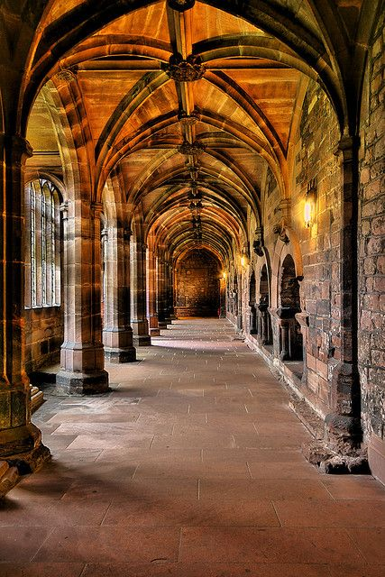 Cloisters - Chester ,Cheshire, England !!!Cathedral   Flickr - Photo Sharing!