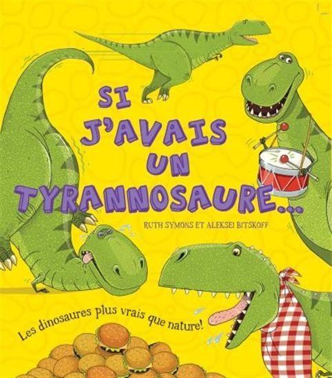 Vous êtes-vous déjà demandé comment les dinosaures s'en sortiraient s'ils étaient encore vivants aujourd'hui? Que se passerait-il s'ils allaient chez le dentiste? À une fête d'anniversaire? Ces livres présentent aux jeunes lecteurs quatre dinosaures : le diplodocus, le stégosaure, le tyrannosaure et le tricératops. Le T-Rex serait-il un bon animal de compagnie? Un bébé T-Rex serait un animal parfait. Mais quelques années plus tard, ce tyrannosaure serait beaucoup trop gros pour entrer dans…