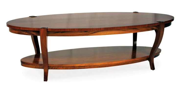Buy 823M/OV Lloyd Oval Coffee Table by Robert Lighton Furniture - Quick Ship designer Furniture from Dering Hall's collection of Contemporary Transitional Tables.