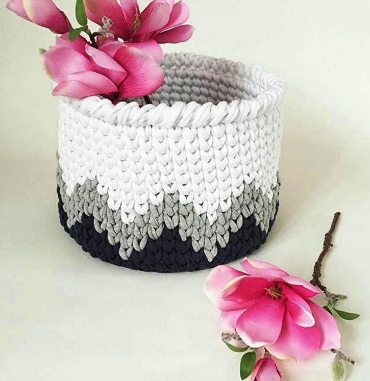 Cuencos crochet