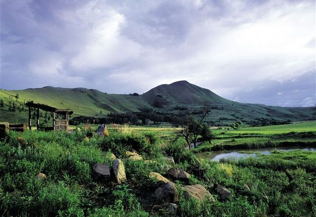 Dullstroom, South Africa.  Stayed a few days on a trout farm here in 2005.  Breathtaking!