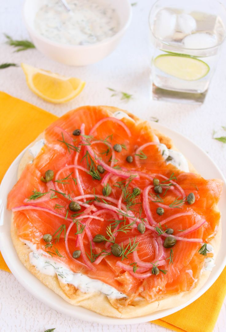 Smoked Salmon and Cream Cheese Pizza Recipe - Cooking Light