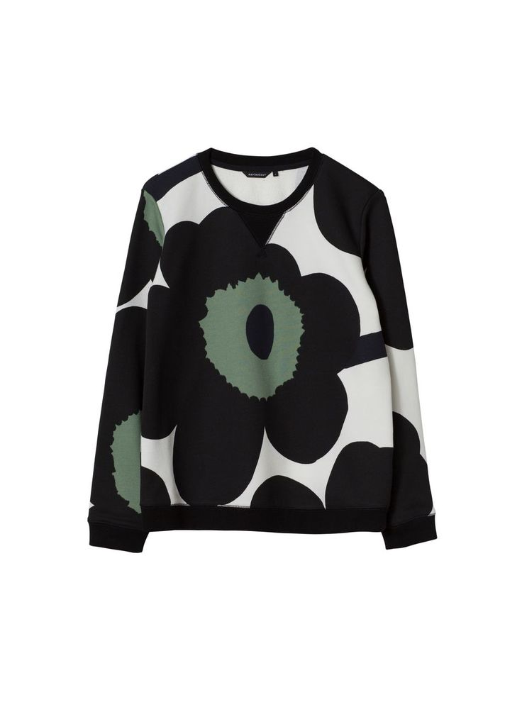 Kris college shirt (white, black) | Clothing, Women, Tops & T-shirts | Marimekko