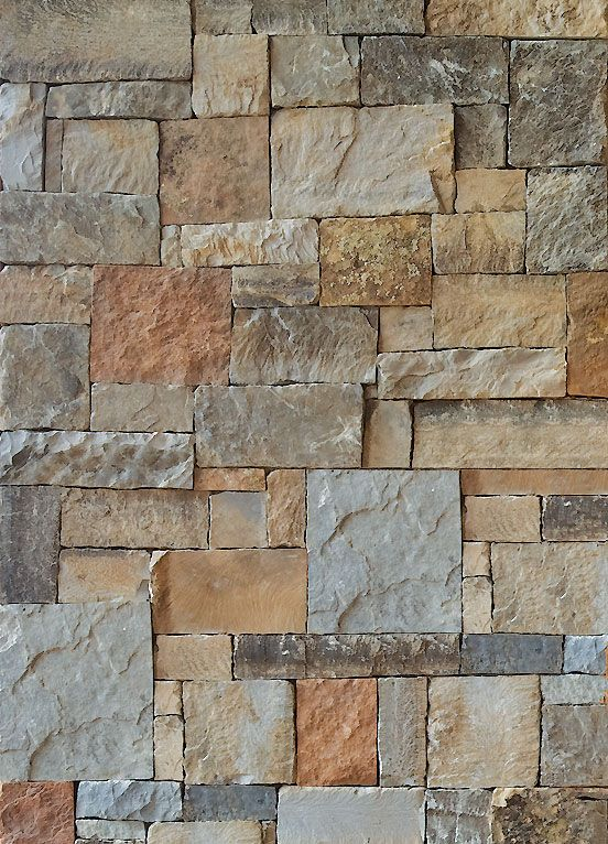Stacked Stone 3 Blues And Rust Home Stone Materials Pinterest Mountain Modern The O