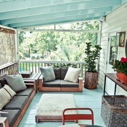 the little southern porch...