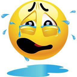 Crying An Ocean Emoticon