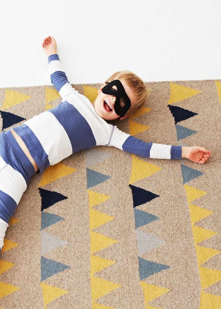 Junior Collection Bunting rug | See more at www.armadillo-co.com
