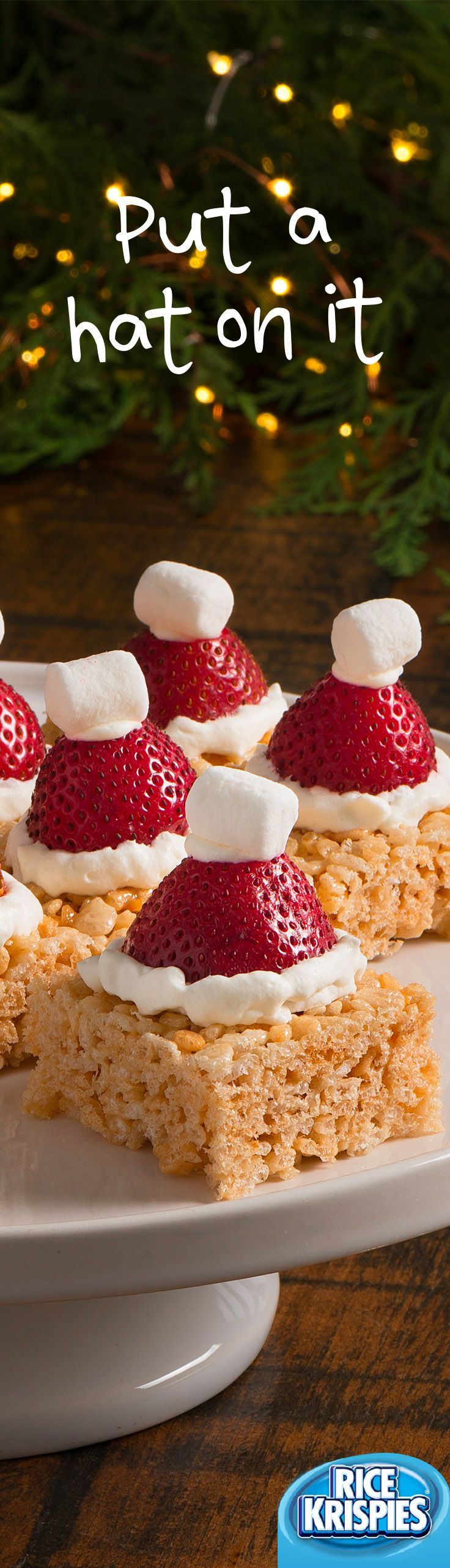 This would be adorable on mini cheesecakes for Christmas.