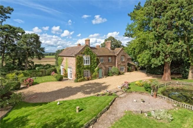 The Old Rectory Shropshire Property For Sale House Detached House