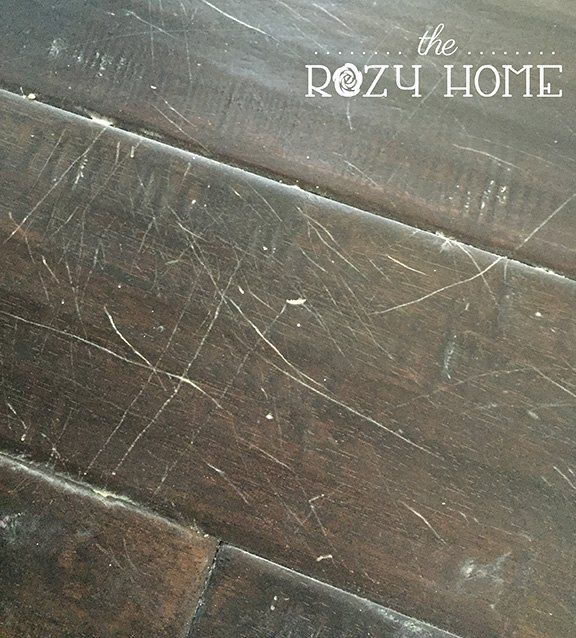 Cat scratch fever aka disguising pet scratches in hardwood - Can a roomba go from hardwood to carpet ...