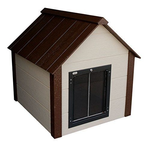 Best 25 insulated dog houses ideas on pinterest for Dog house with a door