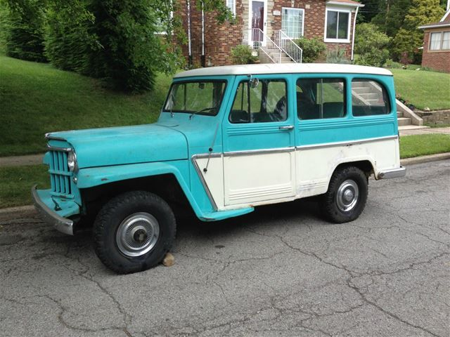 1962 Willys Station Wagon For Sale 8 250 Willys Wagon Station Wagon
