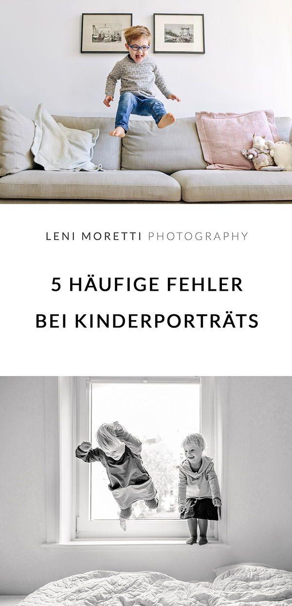 5 Fehler, die Du bei Kinderporträts vermeiden solltest