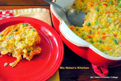 Corn and Green Chilis Casserole part of menu ideas from the 11/13-11/19/13 Brookshire's ad