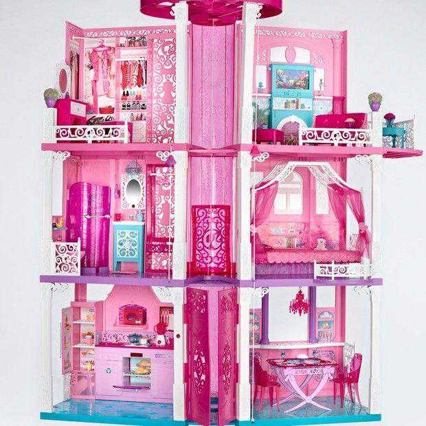 Les 25 meilleures id es de la cat gorie barbie malibu - Barbie maison de reve ...