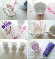 El rincón de las cosas bonitas: Cómo hacer chalk paint o pintura de pizarra casera