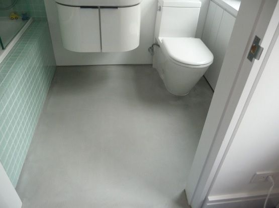 Polished Concrete Bathroom Floor Ideas On Small Bathroom Concrete Bathroom Small Bathroom Remodel Cheap Bathroom Flooring