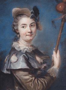 Jeanne-Antoinette Poisson Madam Pompadour by Louis Vigee