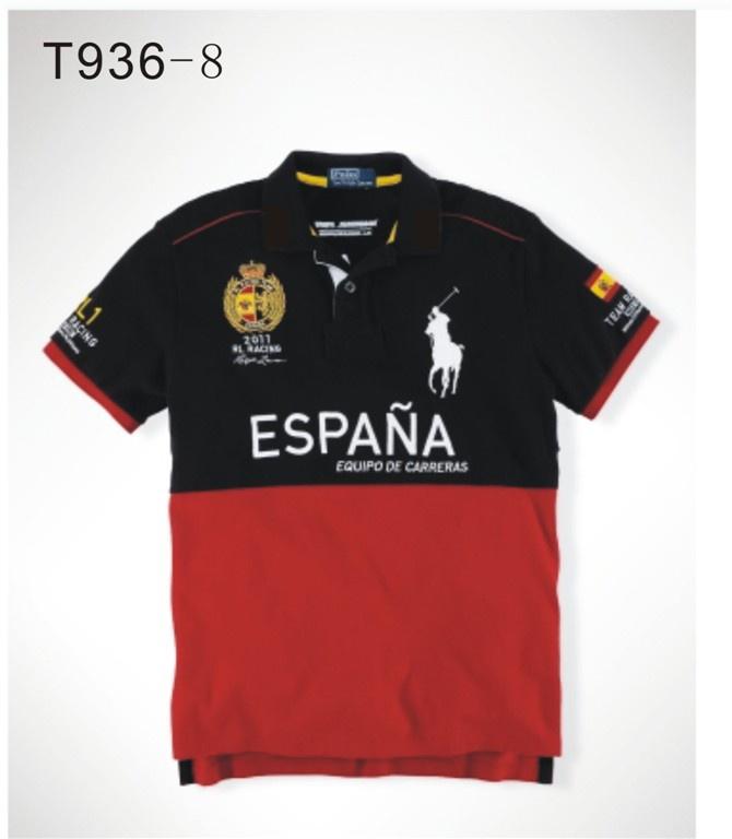 POLO New Mens Camisas Curtas da Car Racing Series Esporte Lazer Camisas  Clothes_Polo_Men