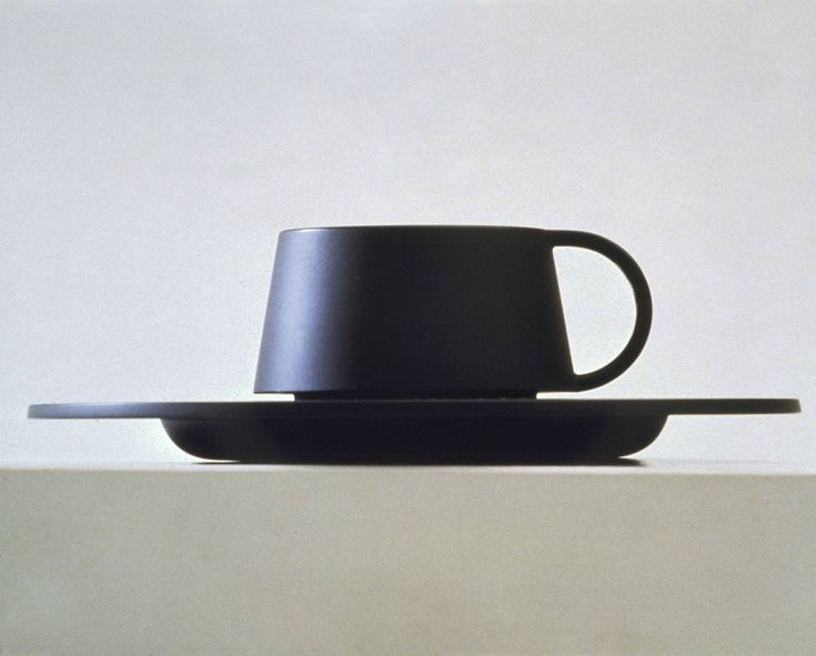 Marcello Morandini Tea cup for UNAC, Tokyo, 1983