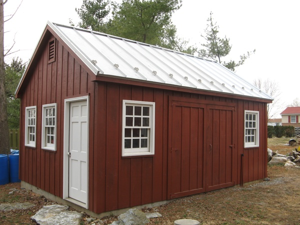 8 best 16x24 shed plans images on pinterest shed plans for Large shed plans