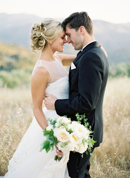 love the shearness of the top of the wedding dress