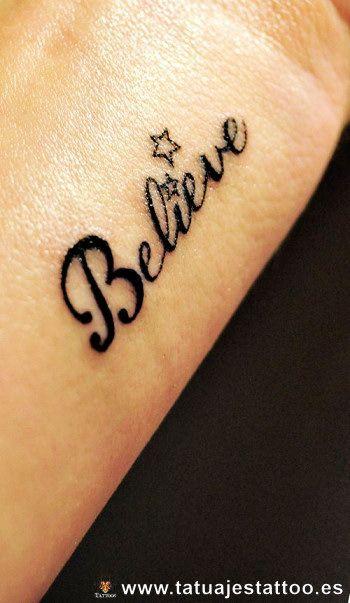 letra para tatuaje