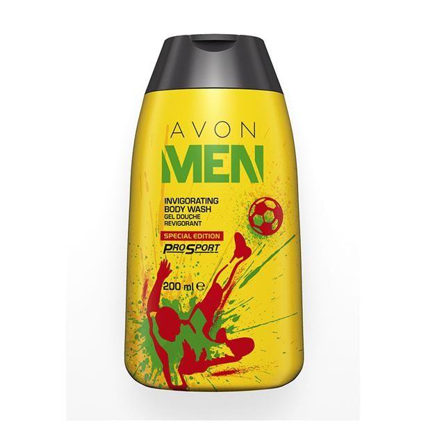 Avon Men élénkítő tusfürdő különleges kiadásban - AVON termékek
