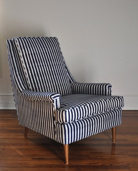 1000 ideas about striped chair on pinterest upholstery fabric for chairs striped couch and. Black Bedroom Furniture Sets. Home Design Ideas