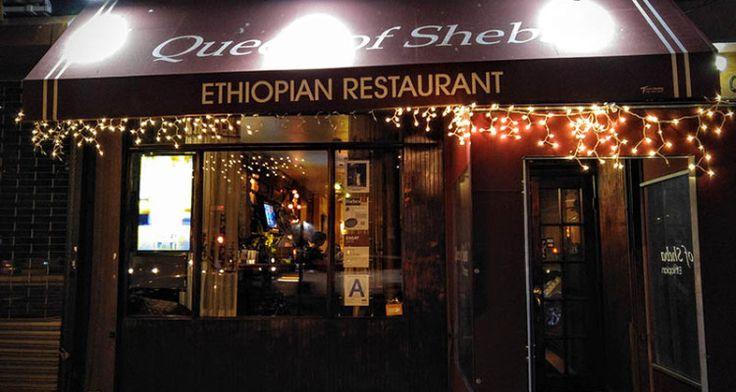 Best Ethiopian NYC restaurants include Queen of Sheba  NYC Ethiopian Restaurants, NYC Restaurants, Queen Of Sheba Restaurant, MiTC