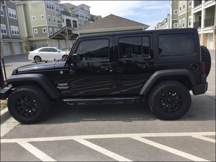 Jeep Wrangler Unlimited Wheel and Tire Packages