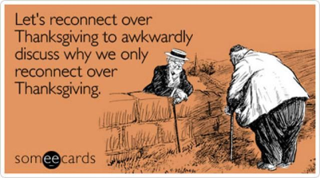 Free Thanksgiving Ecards to Send to Friends and Family: Let's Reconnect by SomeEcards