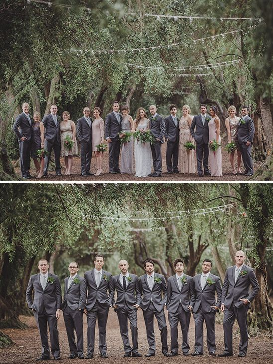 dashing grey groomsmen attire @weddingchicks                                                                                                                                                                                 More
