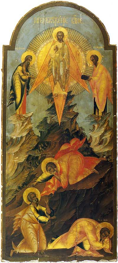 The Transfiguration. Early 19th century