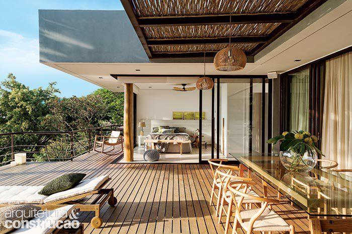 Casa de praia com paisagem de sonho