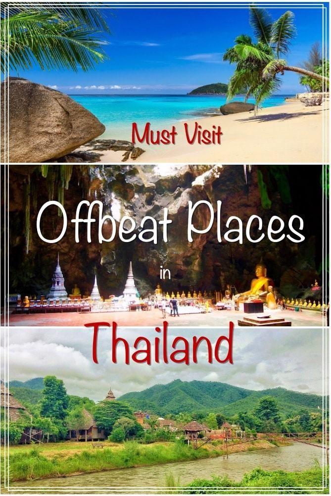 Offbeat places to visit in Thailand | Koh Kood | Nakhon Ratchasima | Phetchaburi | Kanchanaburi | Koh Mook | Koh Lanta | Khao Lak | Sukhothai | Koh Lipe | Pai
