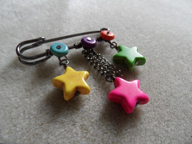 Bright Star Kilt Pin £6.50