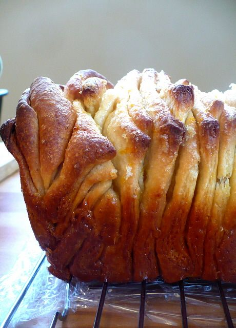 Lemon Pull-Apart Coffee Cake.Lemon Cake, Cake Recipe, Coffee Cakes, Pullapart, Lemon Loaf, Pulled Apartments, Apartments Lemon, Lemon Bread, Cream Chees