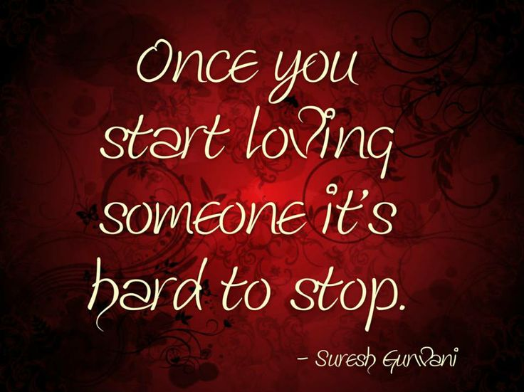 what stop loving someone actually adore