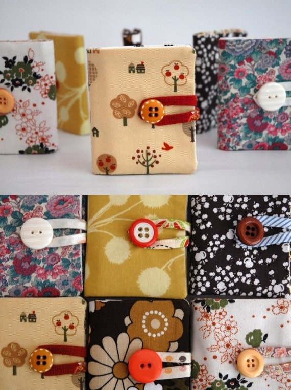 Fabric wallet tutorial - This would make a great gift idea!