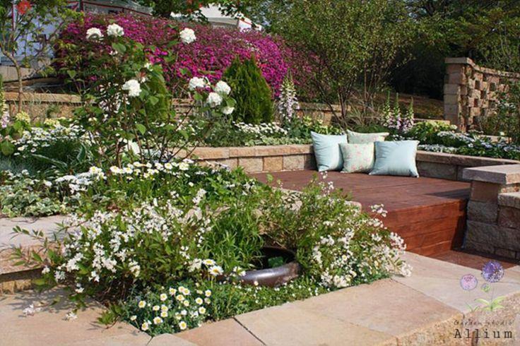 제1회 코리아가든쇼 '내려놓음' : 컨트리스타일 정원 by Garden Studio Allium