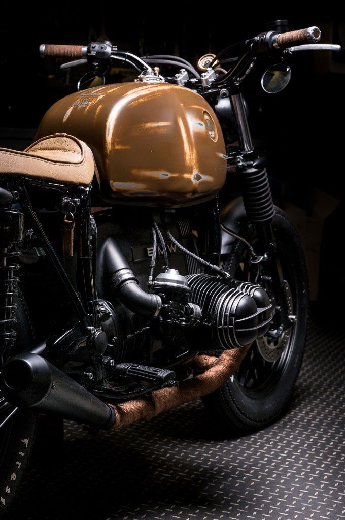 Moto-Mucci: DAILY INSPIRATION: BMW R65 by Jerikan Motorcycles