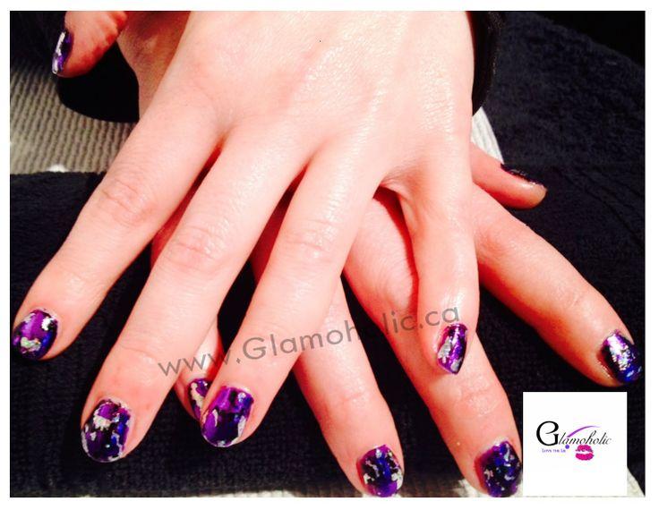 311 best glamoholic images on pinterest eyelash shellac foil nail art by glamoholic prinsesfo Choice Image