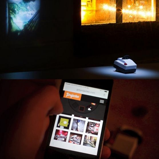 The Tiny Instagram Projector by Projecteo - $35
