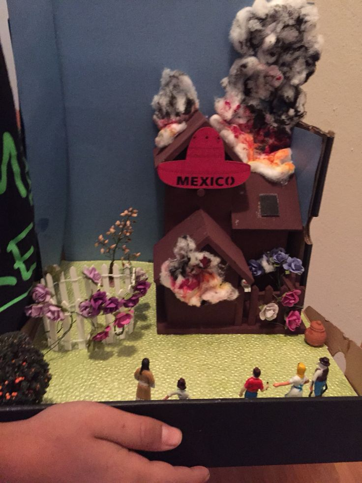 Esperanza rising chapter 3 burning house . Damien's diorama